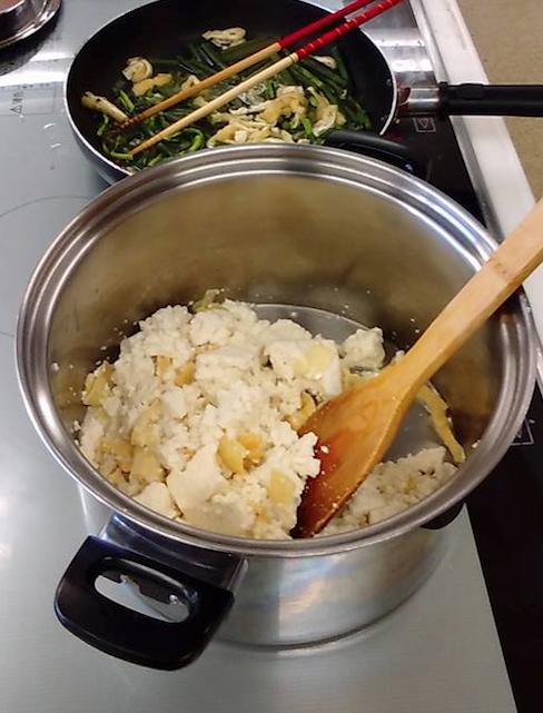 ランチ会味噌汁