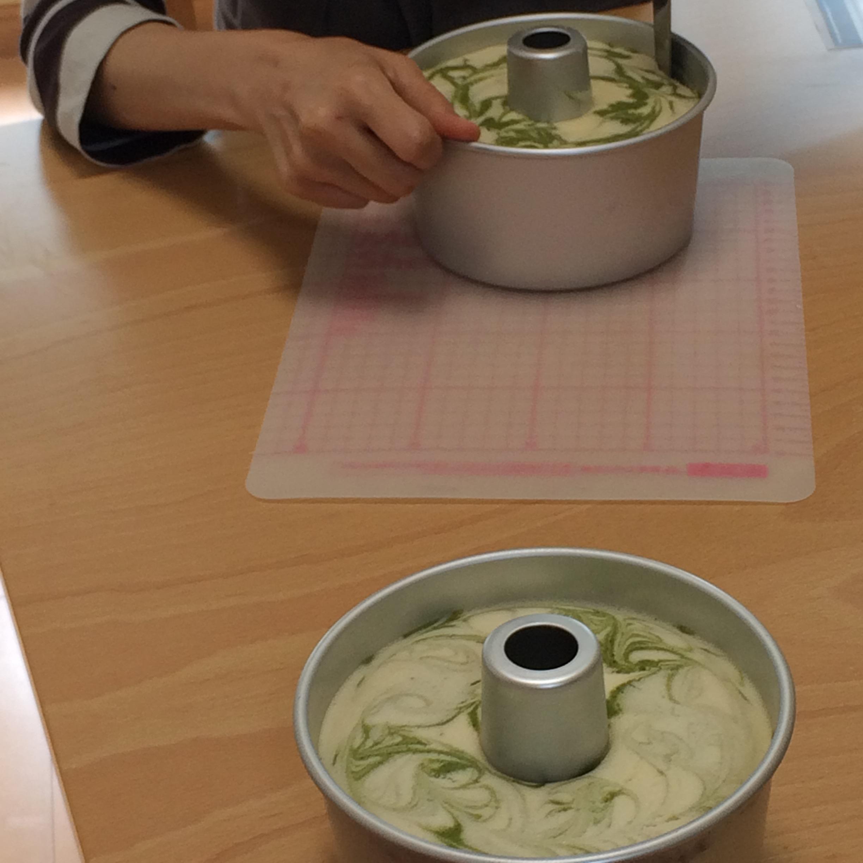 米粉のマーブルシフォン